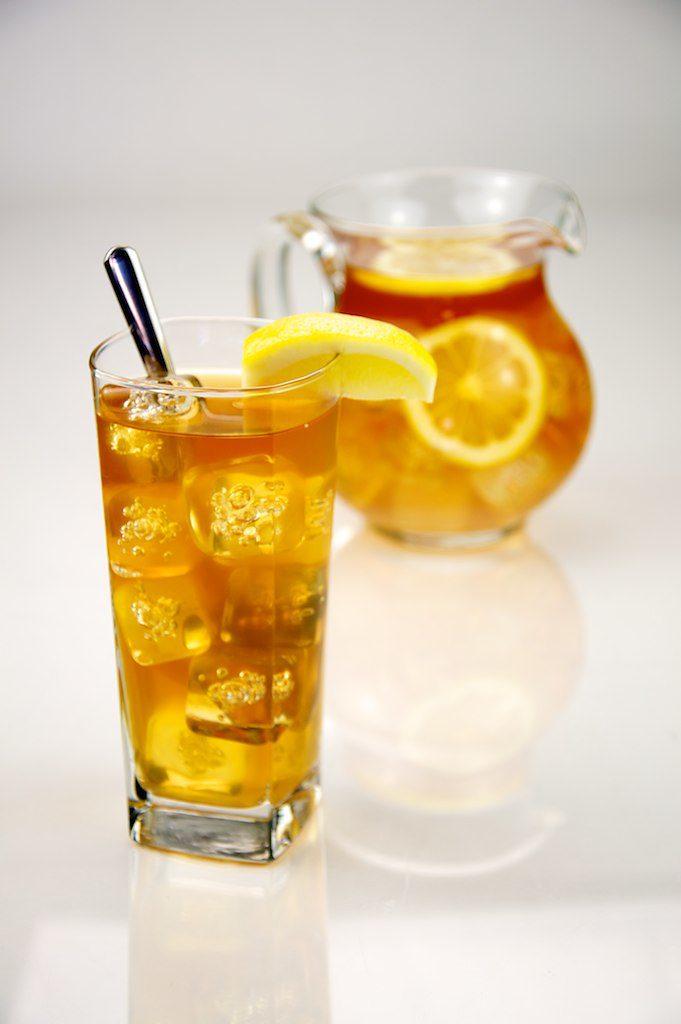 Lemon Iced Tea with Stevia and Citric Acid